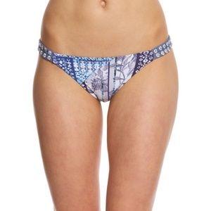 O'Neill Blue Lisa Double Strap Bikini Bottoms L